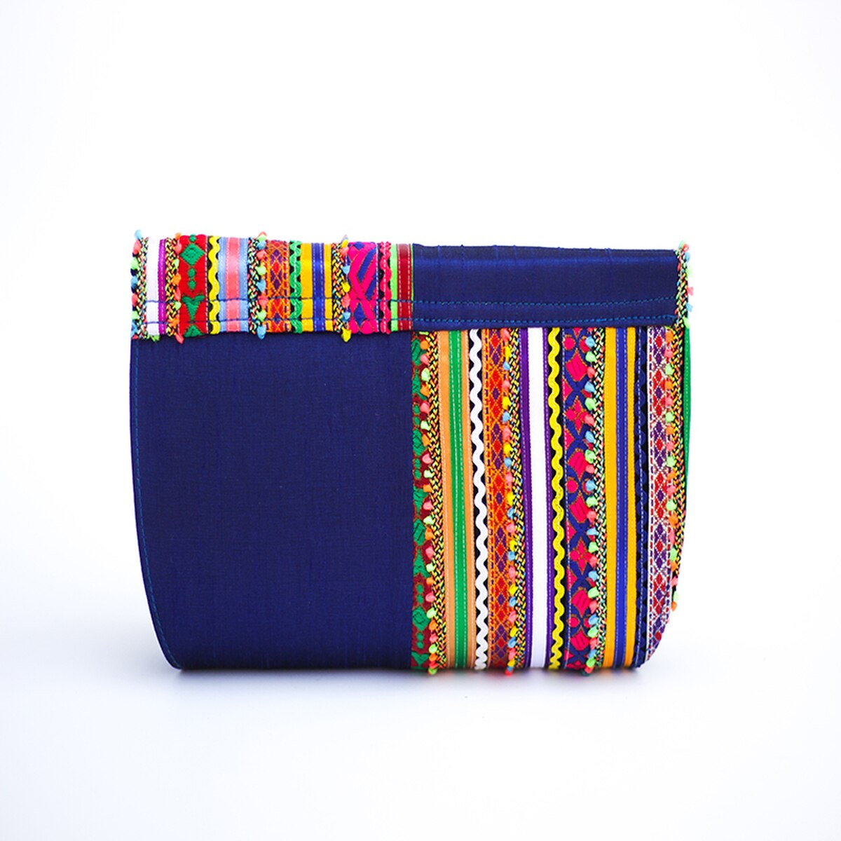 Blue Vibrant Clutch from Siyana London
