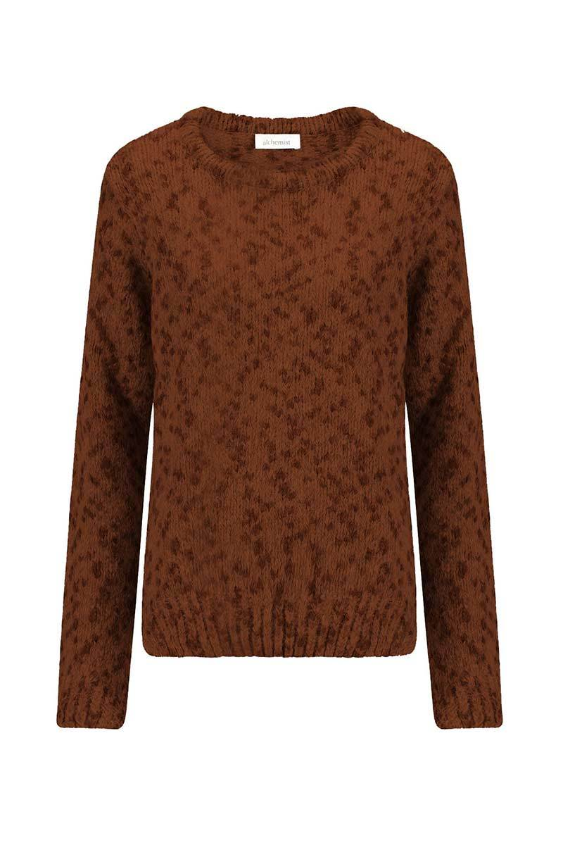 Dot knit sweater from Sophie Stone