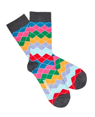 Rainbow sokken from Sophie Stone