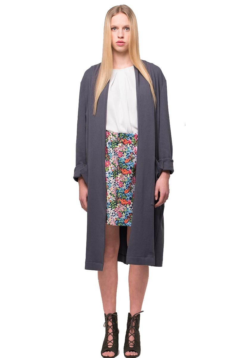 Lang vest blauw from Sophie Stone
