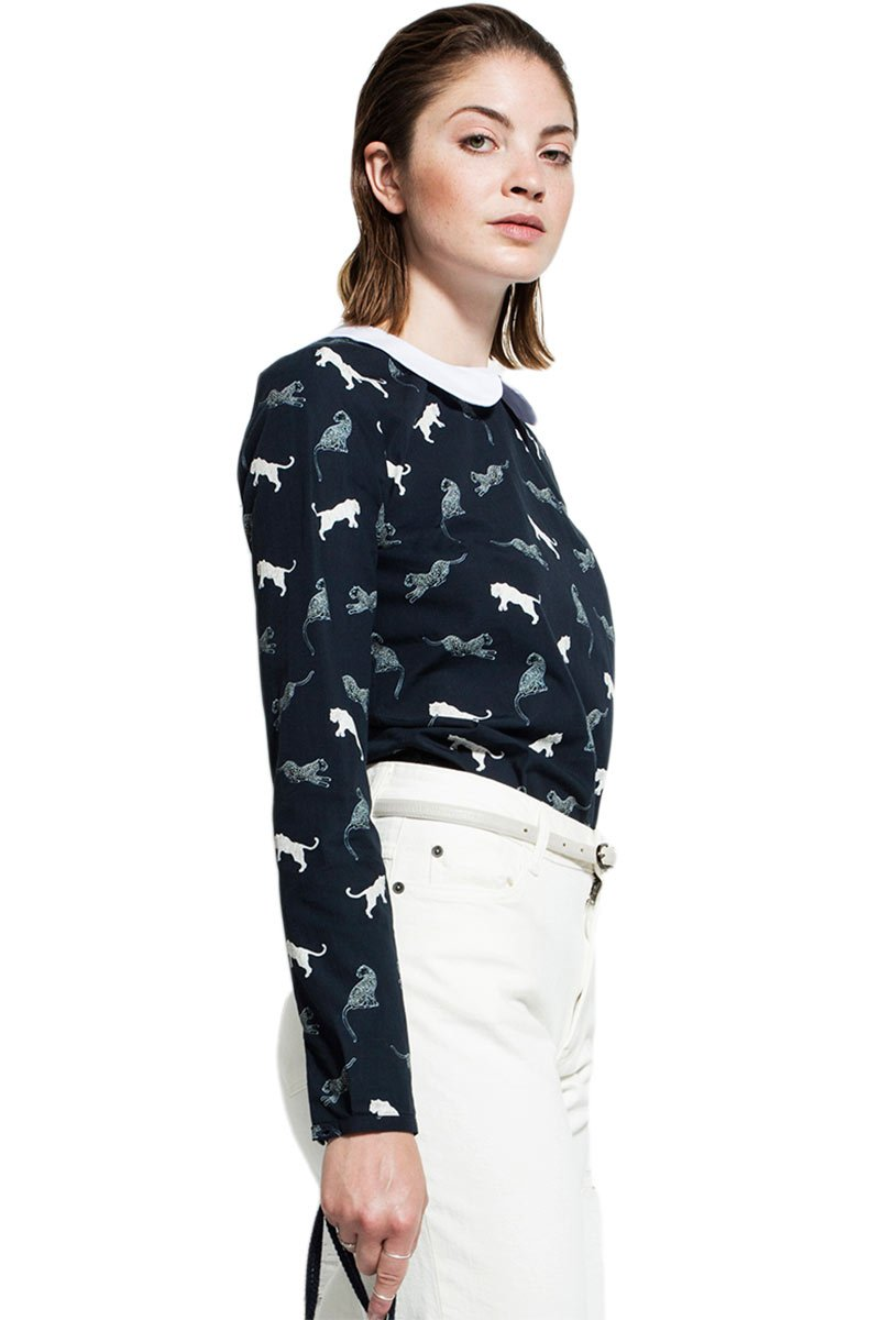 Blouse wild cat from Sophie Stone