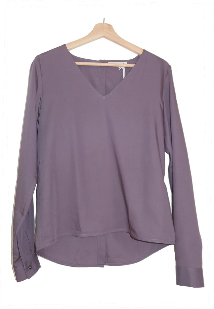 Blouse paars from Sophie Stone