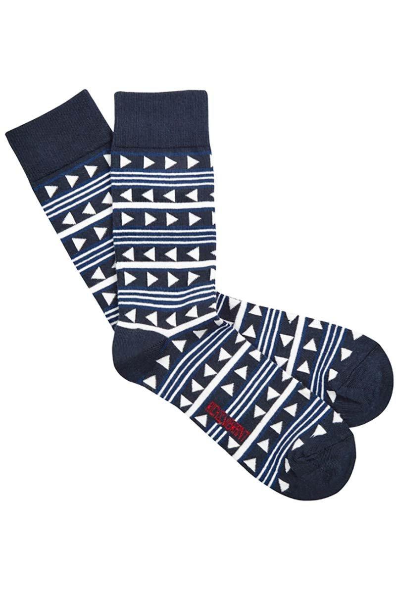 Geometric sokken from Sophie Stone