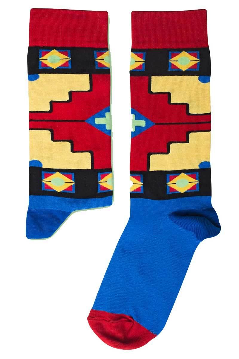 Ndebele sokken from Sophie Stone