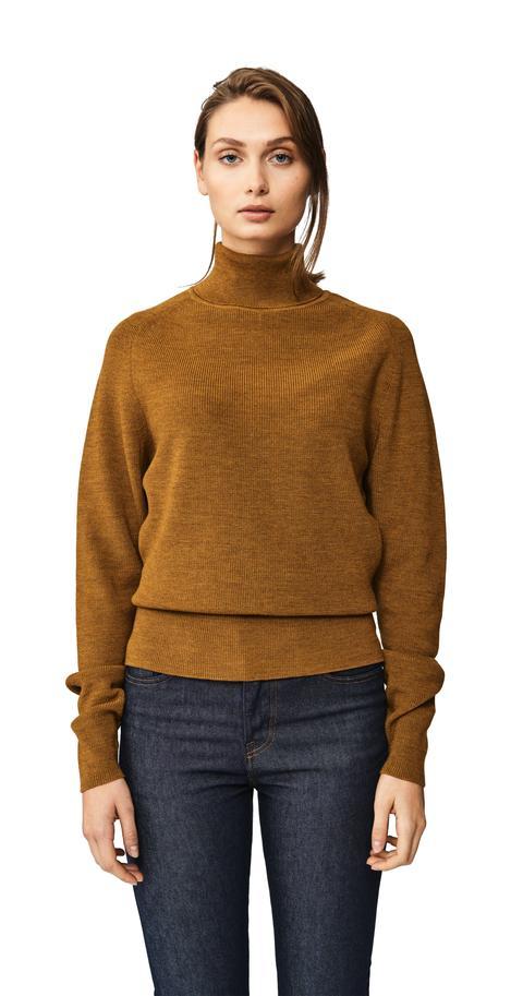 The Turtleneck Sweater - Mustard from Teym