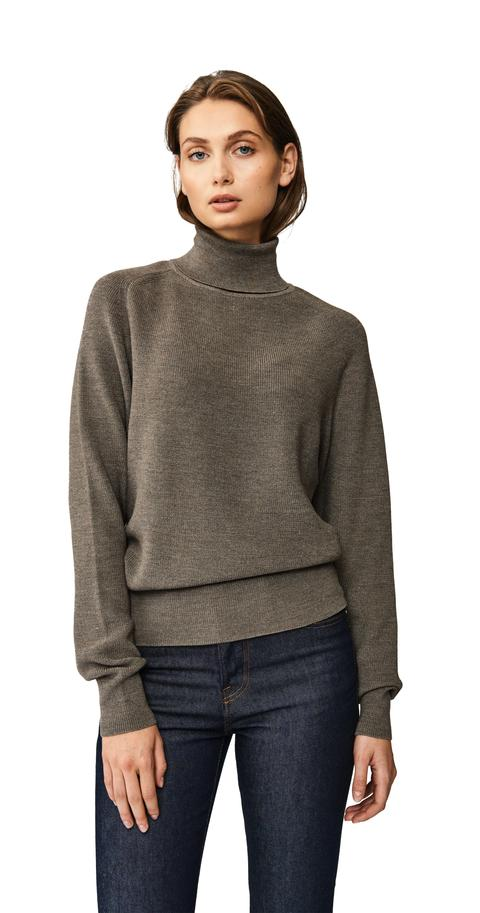 The Turtleneck Sweater - Grey from Teym