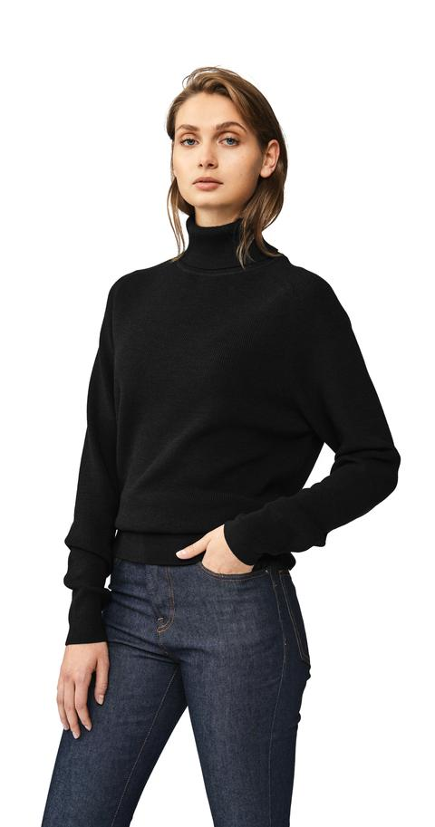 The Turtleneck Sweater - Black from Teym