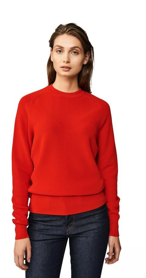 The Crewneck Sweater - Red from Teym
