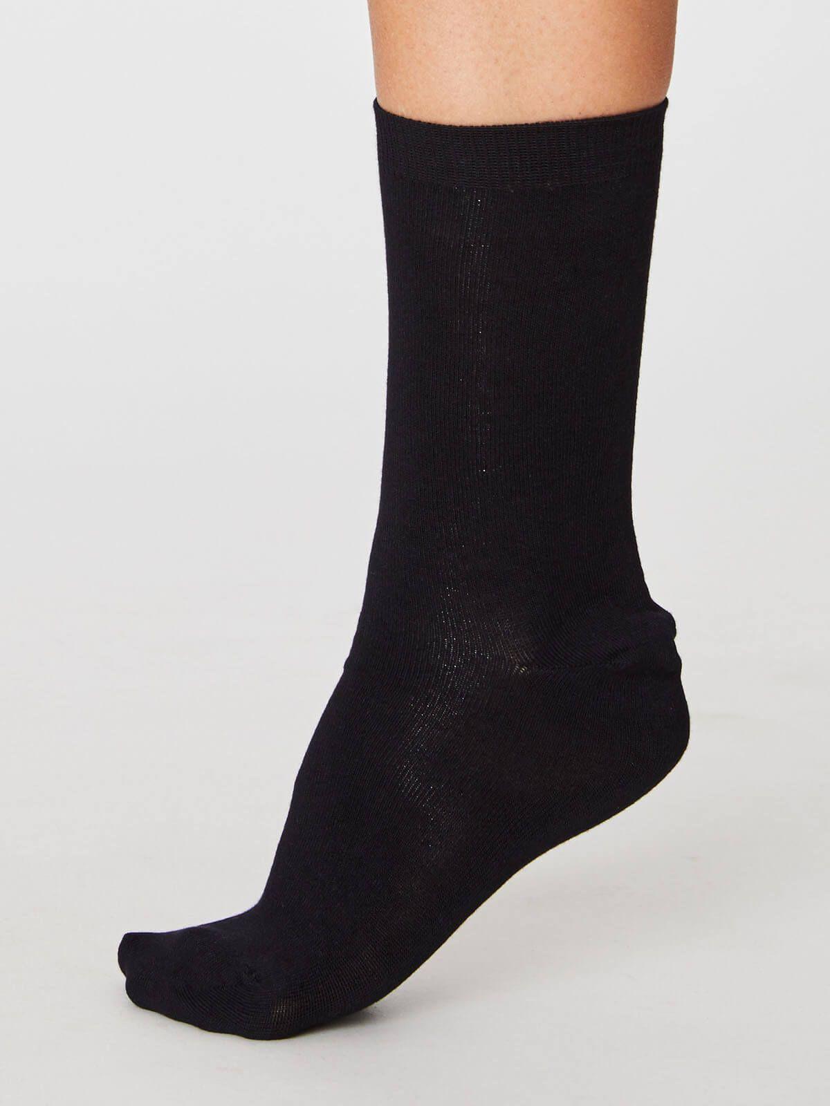 Bamboe sokken zwart from The Blind Spot