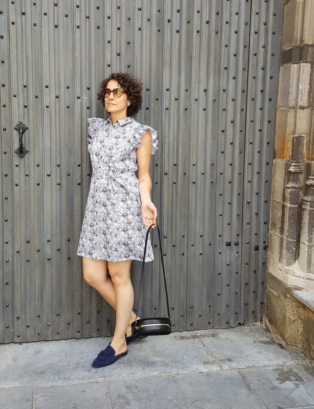 V&A Grafton frill dress from The Blind Spot