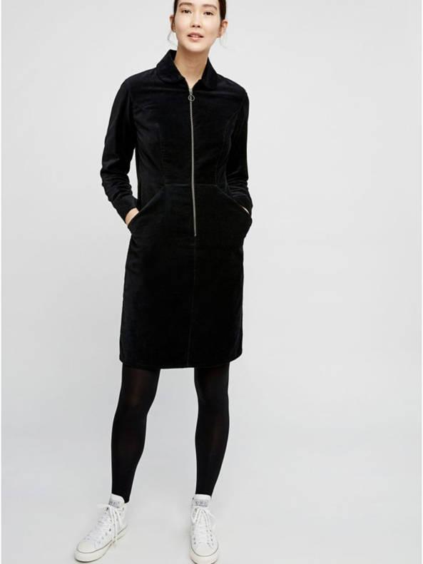 Jacqueline velvet dress from The Blind Spot