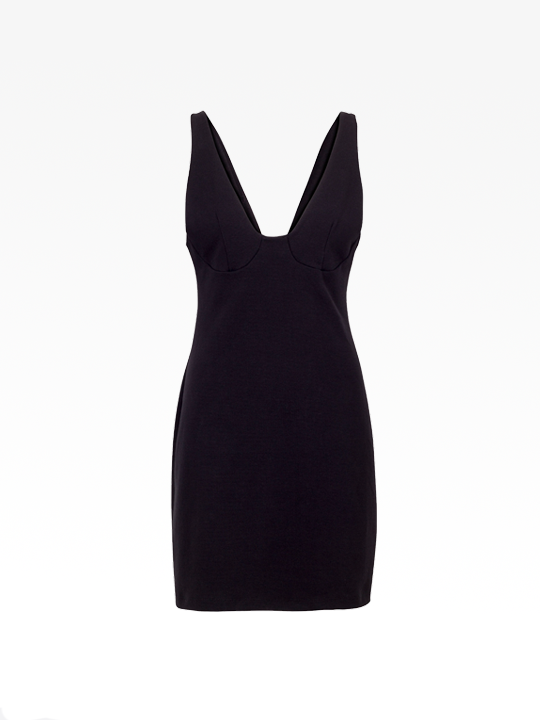 Black Vera Dress  from The Collection One