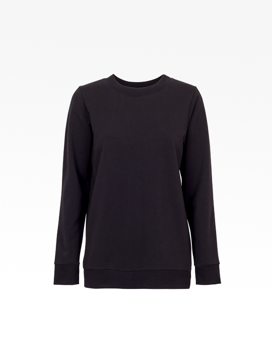 Black Basic Sweat  from The Collection One