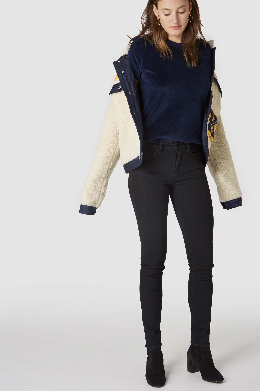 Juno high jeans black from thegreenlabels.com