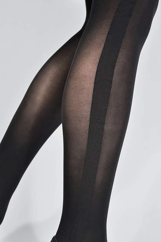 Andrea smoking stockings tights black from thegreenlabels.com