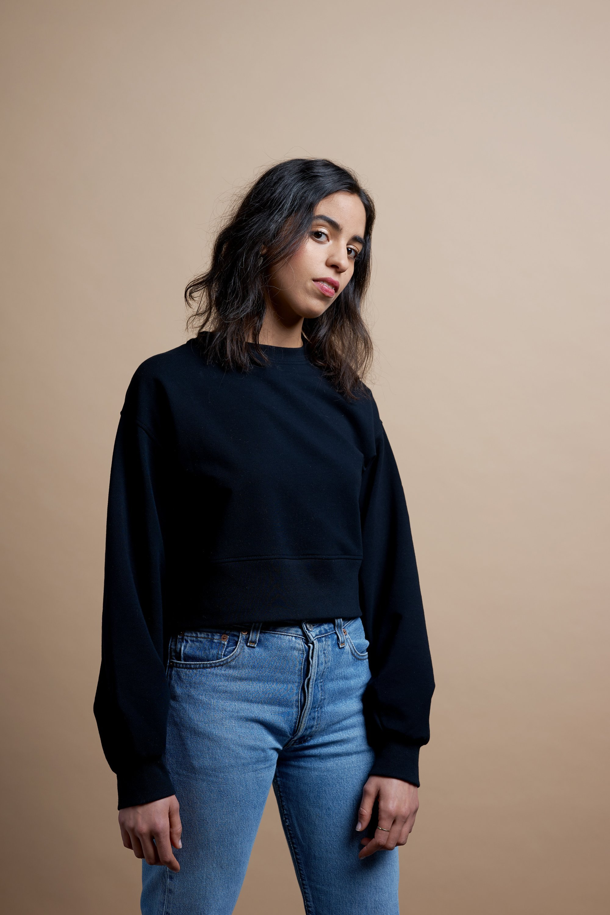 Sweater black from thegreenlabels.com