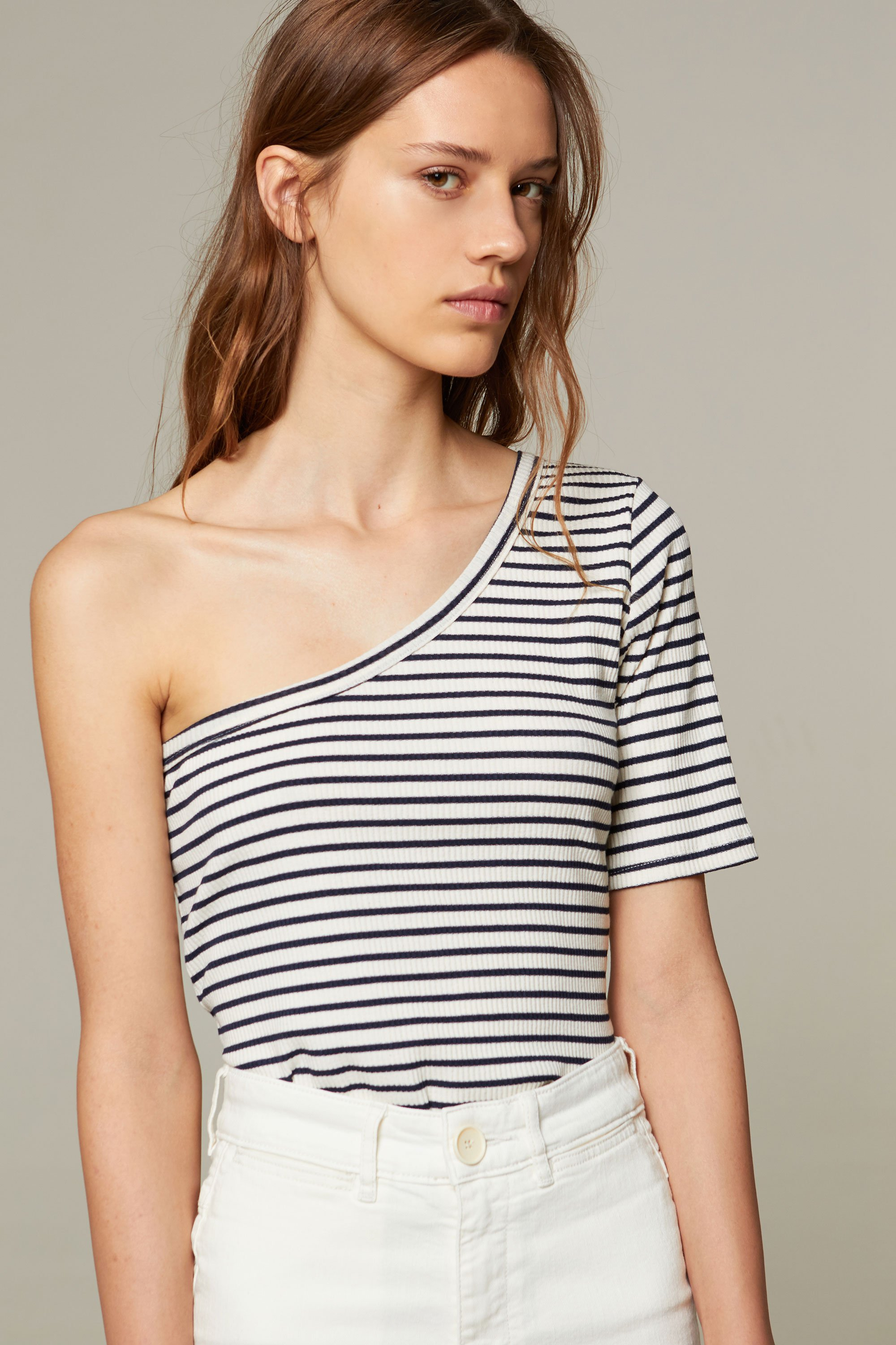 Ras top navy stripes from thegreenlabels.com