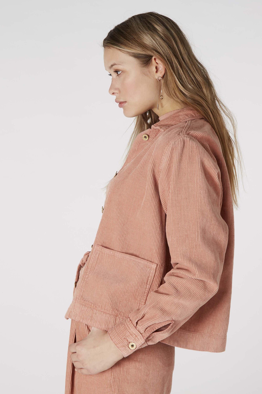Farzin jacket apple blossom from thegreenlabels.com