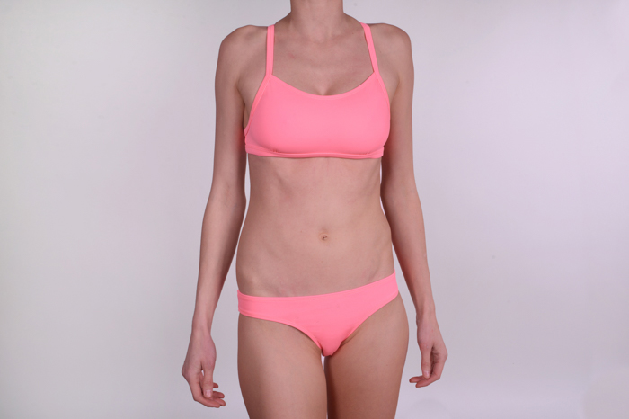 Bikini Bottoms Performer, salmon from Tinka Blu
