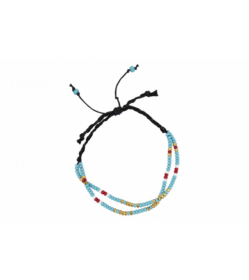 Return to Sender Morse code armband blauw from UP TO DO GOOD