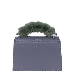 INYATI Olivia Top Handle Bag Dark Grey from Veganbags
