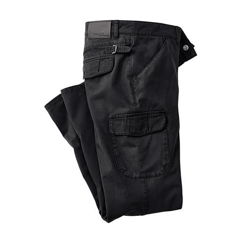 Brainshirt Cargobroek EXETER, zwart | Waschbär from Waschbär
