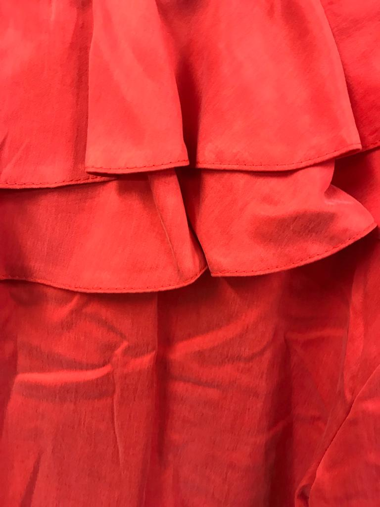 IRMA RUFFLE RED from WASTED