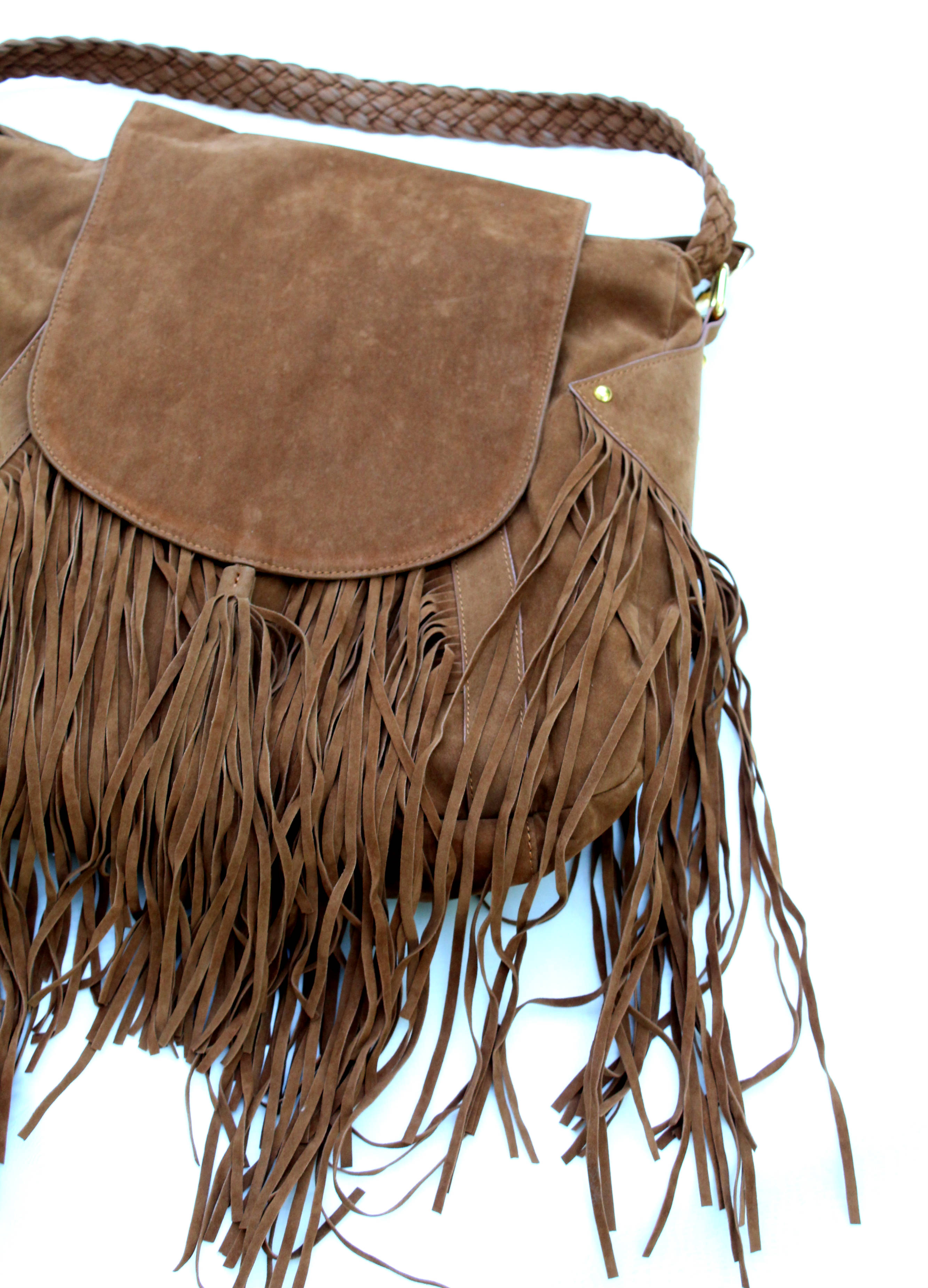 Cri de Coeur – Fringe Bag Camel from Wolf and Storm