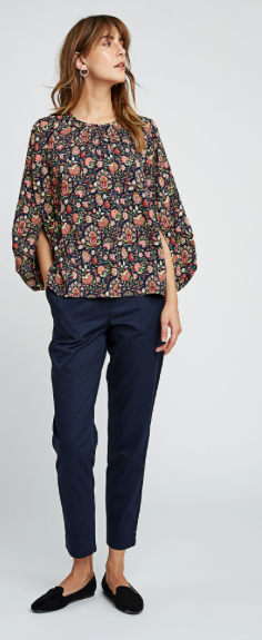 People Tree | V&A Yasmin Print Top from Wolf and Storm