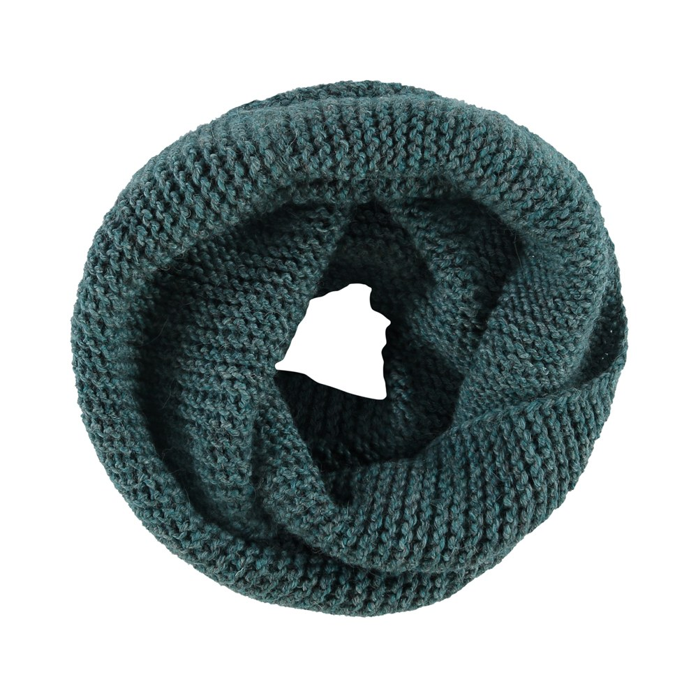 Rosa infinity scarf sea green from Zazu Amsterdam