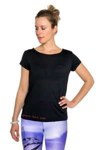 Yoga top Peace.Love.Zen from Zen by Sen