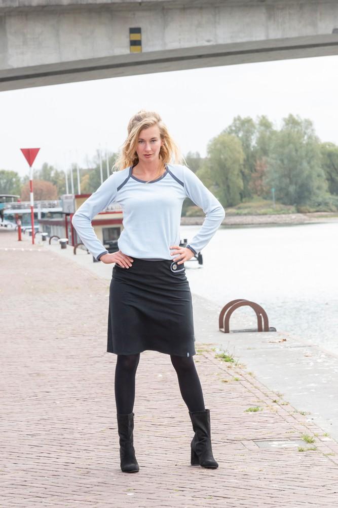 Nicky shirt Margit Blue from Zendee