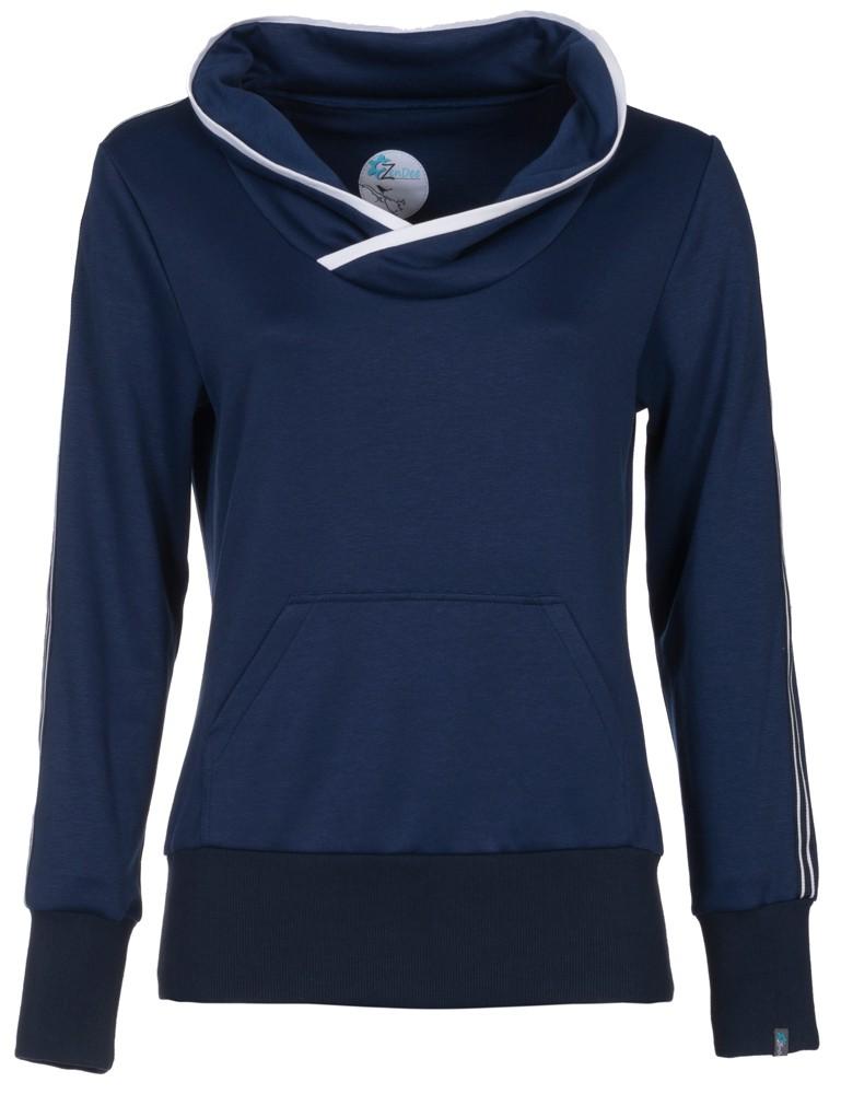 Donkerblauwe sportieve trui - S from Zendee