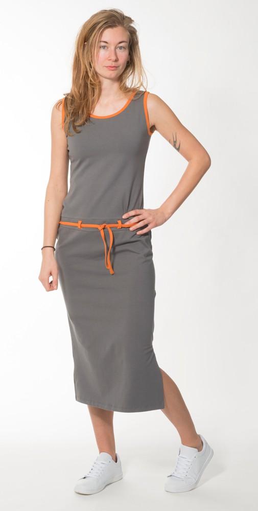 Lange jurk Aurora Ash from Zendee